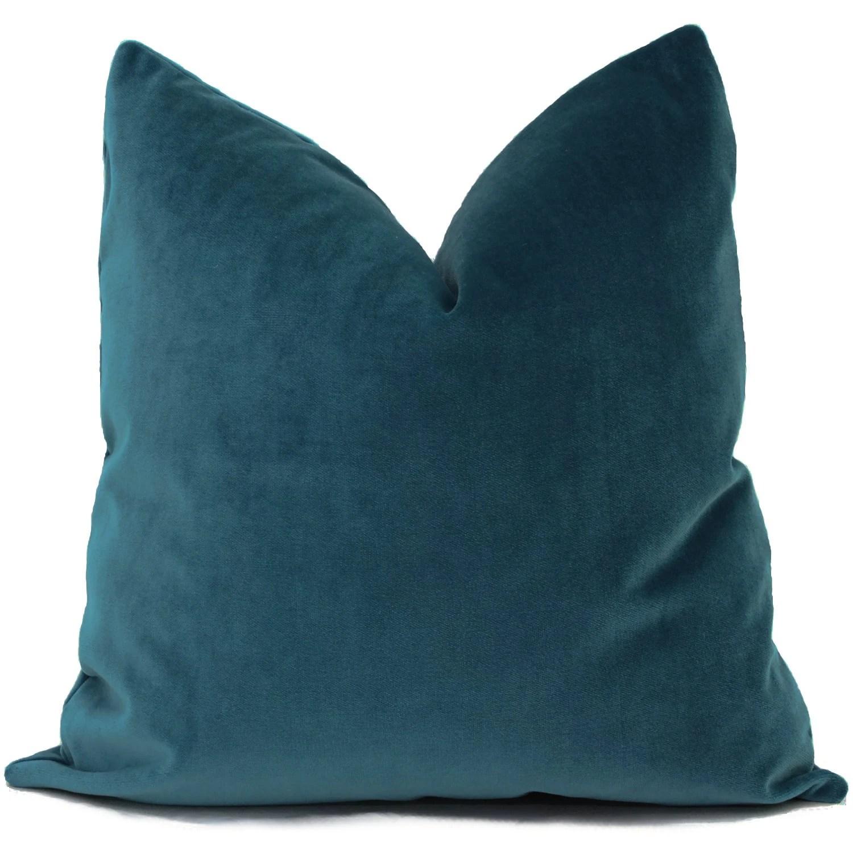 pillows throw pillow covers blue