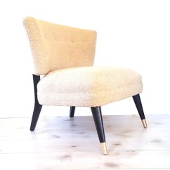 Mid Century Barrel Dining Chair Local Rentals Neutral Back Slipper Club Lounge