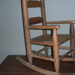 Antique Wooden Rocking Chairs Wedding Chair Covers Hire West Sussex Childs Amazing Shape