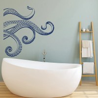 Kraken Octopus Tentacles Vinyl Wall Decal Octopus by HomyVinyl