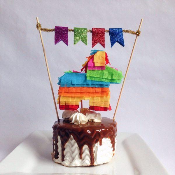 Pinata Cake Topper Fiesta Mexican