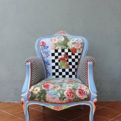 Alice In Wonderland Chair Commercial Beach Chairs And Umbrellas Armchair Flowers Woodwork Bohemian