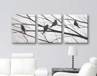 Bird wall art   Etsy