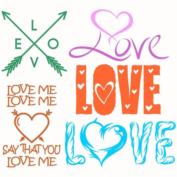 Download Love Me Say That You Cuttable Designs SVG DXF EPS by ...