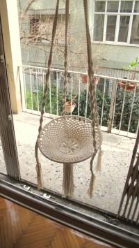 Macrame swing