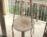 Macrame swing | Etsy