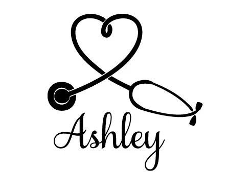 Heart Stethoscope SVG by theSVGshop on Etsy