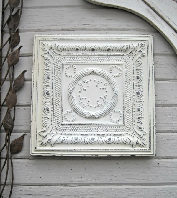 Antique Ceiling Tin Tile. 10th Anniversary