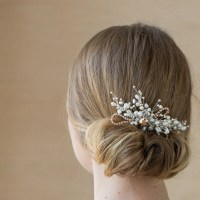 Bridal hair comb Pearl Wedding hair comb Bridal headpiece