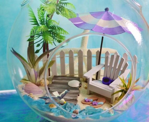 adirondack chair kit restaurant chairs used boardwalk beach terrarium seagull