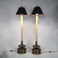 Pair of Table Lamps by Chapman buffet lamps by RedWalrusShoppe
