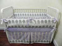 Custom Girl Baby Bedding Set Rory Elephant Baby Bedding