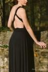 Infinity Wrap Dress Black
