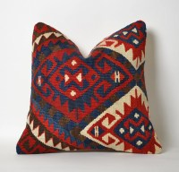 Kilim Cushion Cover Kilim Pillows Etsy Tribal Pillow Case