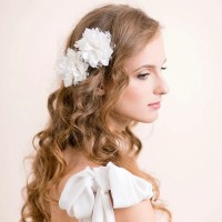 Wedding Hair Piece Vintage Lace Wedding Hair Flower Clip Set