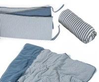 Baby Crib Bedding For Boys Denim Blue Baby by TAKEANAPbedding