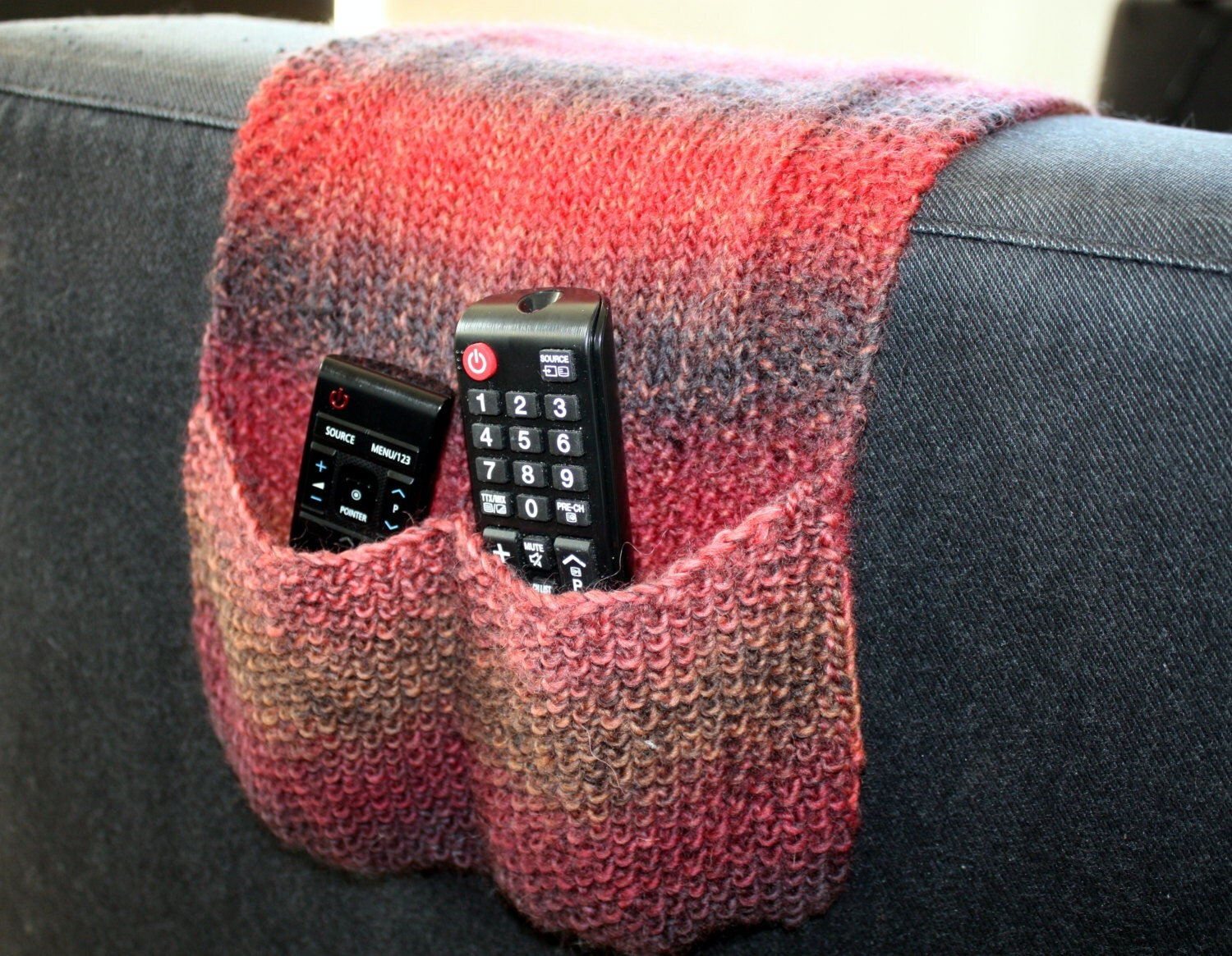 remote control holder for chair pattern swing up chairs knitting instant download pdf