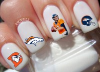 Denver Broncos Nail Decals