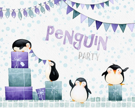 winter holiday party clipart
