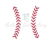 set of 2 baseball stitches machine