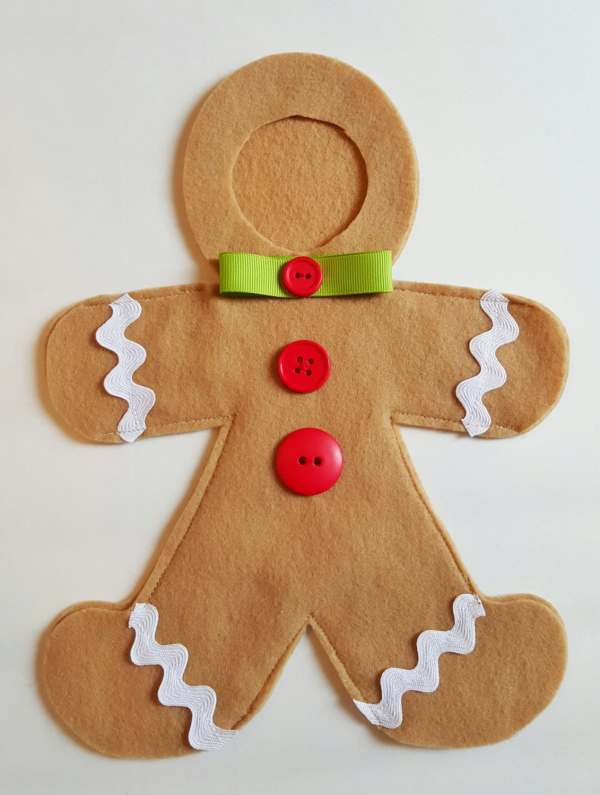 Gingy Elf Gingerbread Man Costume