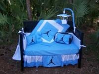 New 9 piece Michael Jordan baby Crib Bedding Set Diaper Bag
