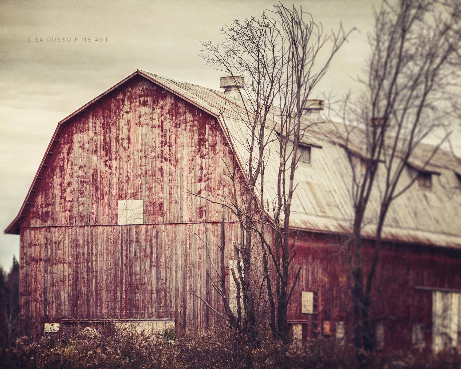 Farmhouse Decor Red Barn Picture Set Of 3 Red Barns Rustic