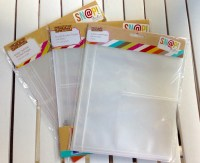 Snap pocket pages/refills for 6X8 inch Simple Stories photo