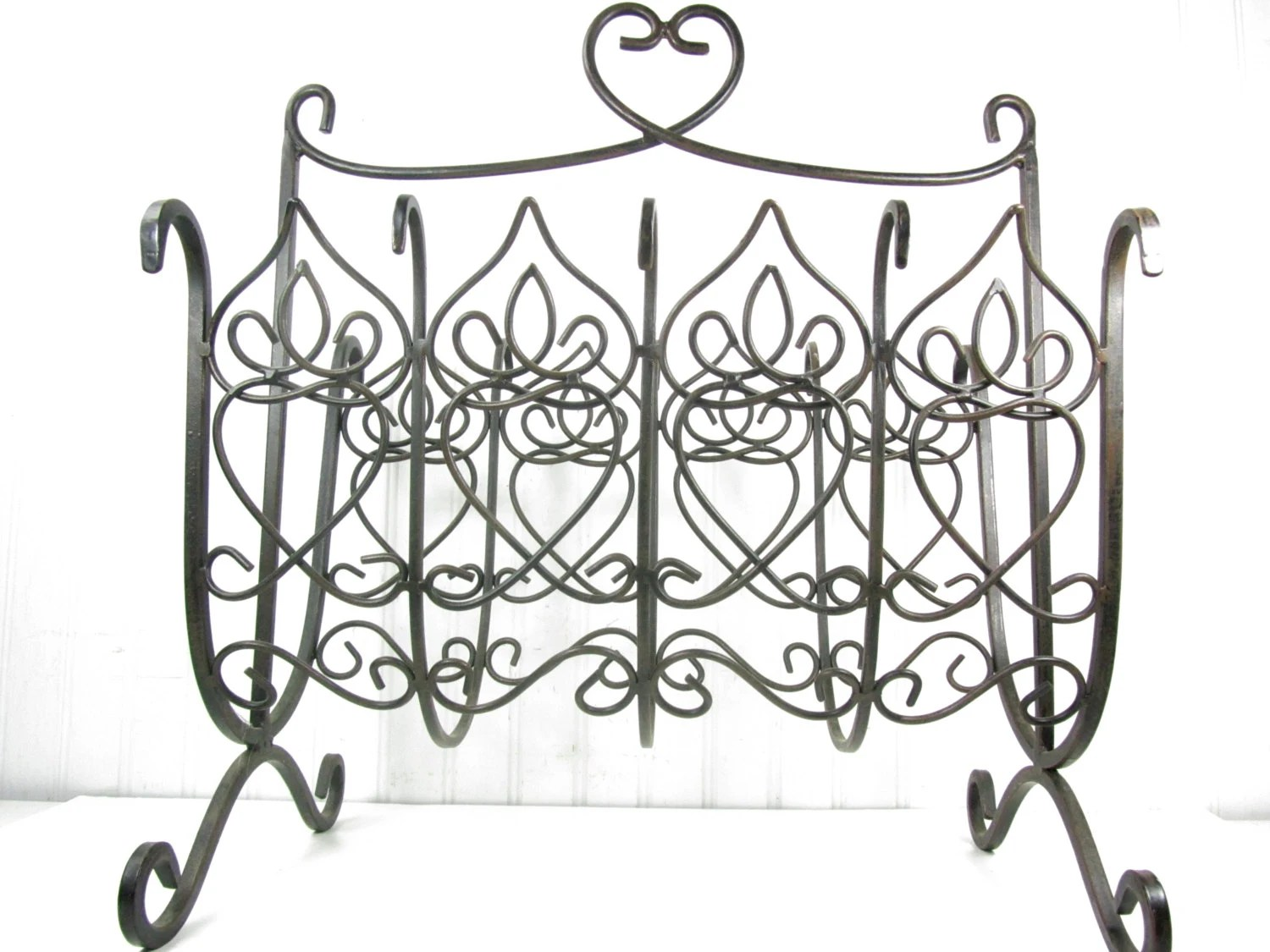 Magazine holdermagazine rack organizer wrought iron