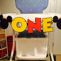Mickey Mouse High Chair Decorations Stand Test Bbc One Banner By