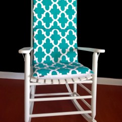 Teal Chair Covers Designer Bar Chairs Reversible Adjustable Rocking Pad