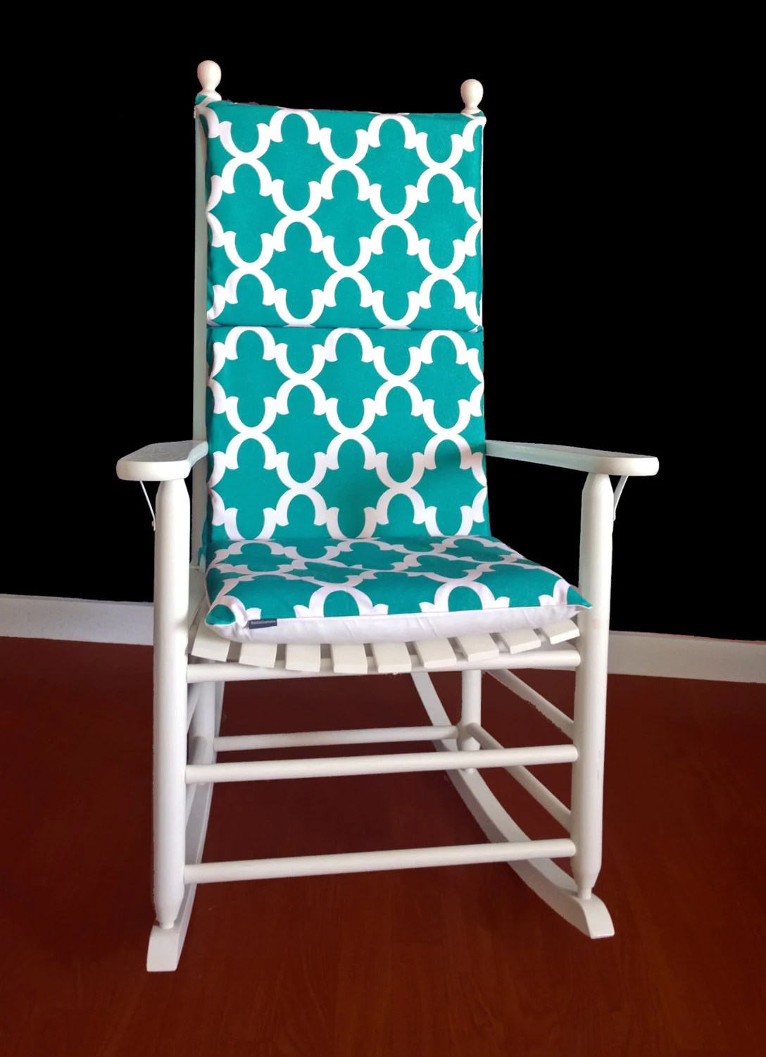 Teal Rocking Chair Teal Reversible Adjustable Rocking Chair Pad
