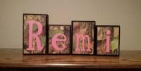 Camo Girl Nursery Decor Baby Girl Bedroom Decor Pink