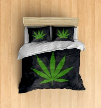 Marijuana Bedding Marijuana Duvet Cover Weed Bedding Set