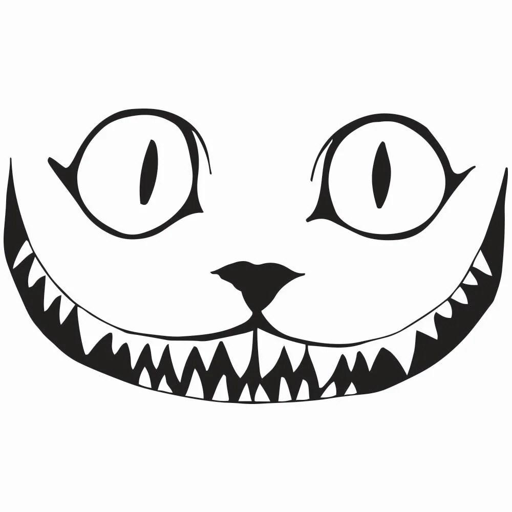Cheshire Cat Smile Clip Art