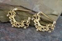 14KG Gold Nipple Ring Nipple Piercing Nipple Jewelry Nipple