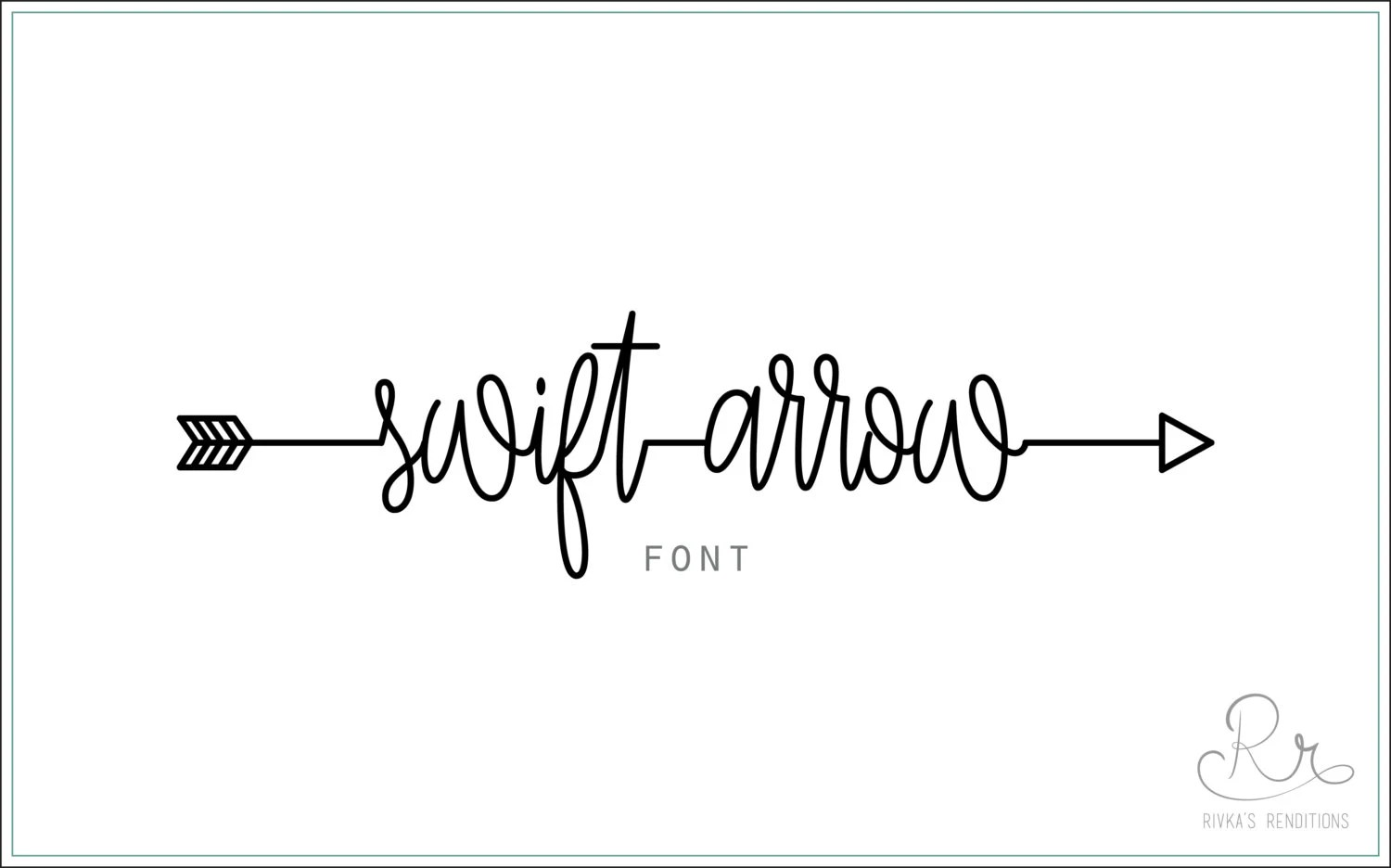 Swift Arrow Font download  OTF  TTF Open Type Fonts