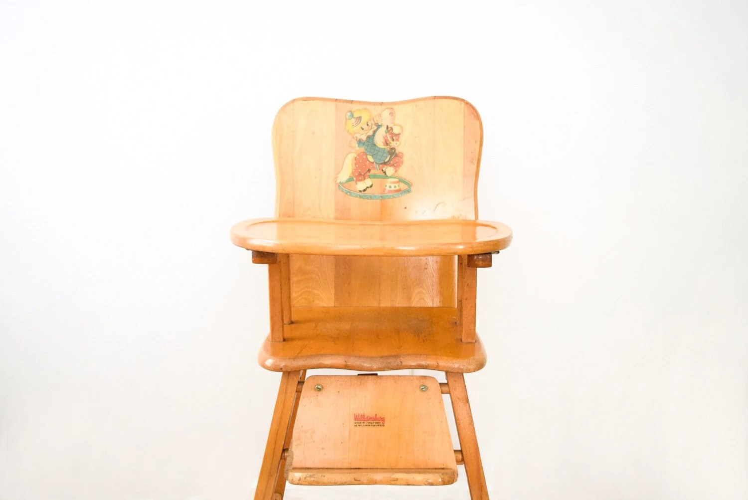 vintage wooden chairs foldable chair plans high antique baby