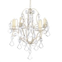 Crystal Wedding Candle Chandelier Non-Electric