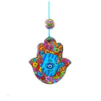 Hamsa Wall Decor Hamsa Art Hamsa Wall hanging Home by MIRAKRIS