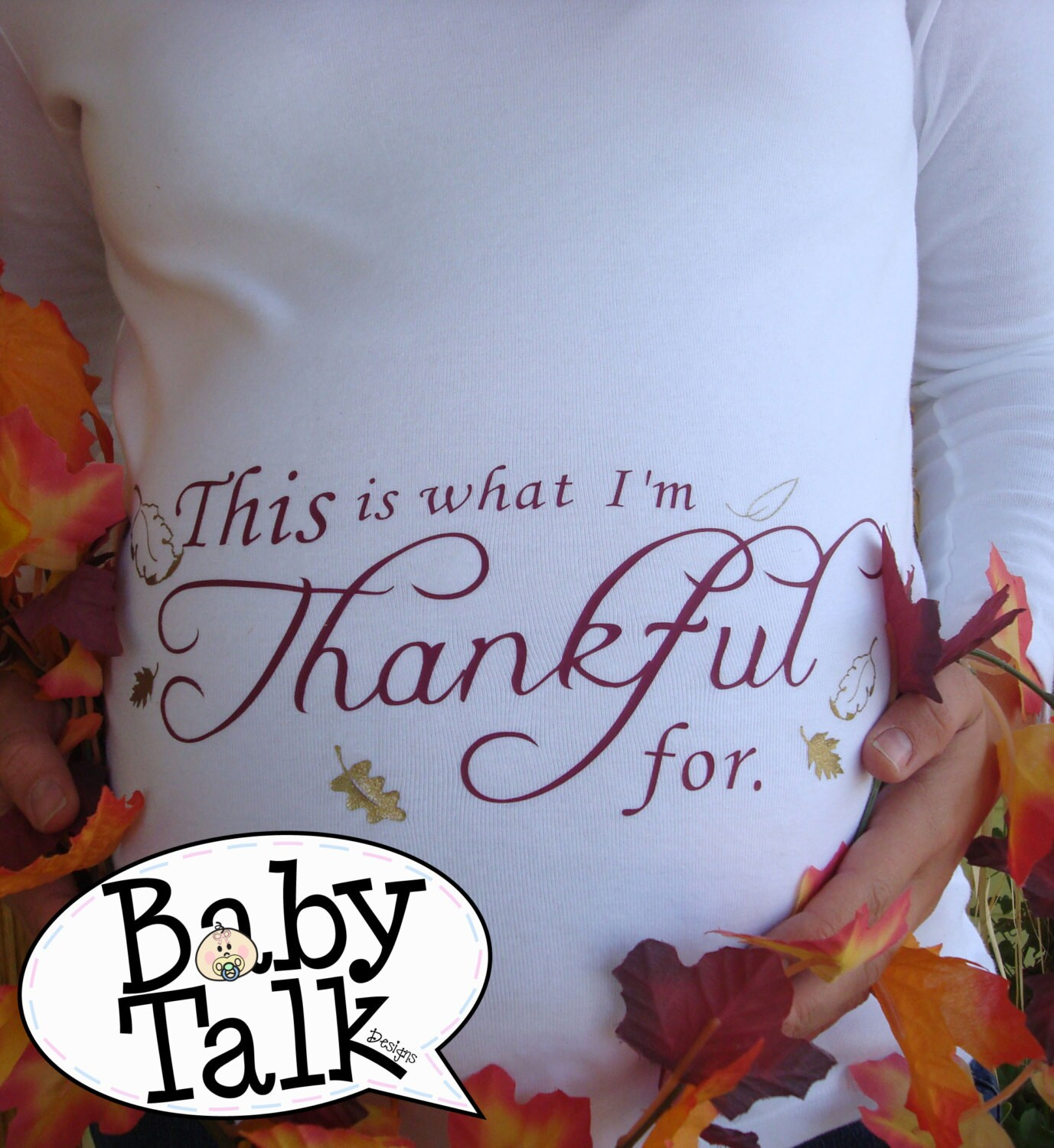 This Is What I Am Thankful For Custom Fall By Babytalkdesigns