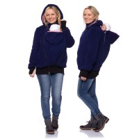 4in1 back and front baby carrier jacket suitable for twins