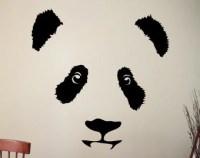 Panda wall decal | Etsy