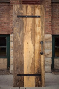 Industrial Pipe Barn Door Pull Handle Rustic by ...