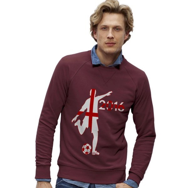 Men' England Football 2016 Sweatshirt Teapparel