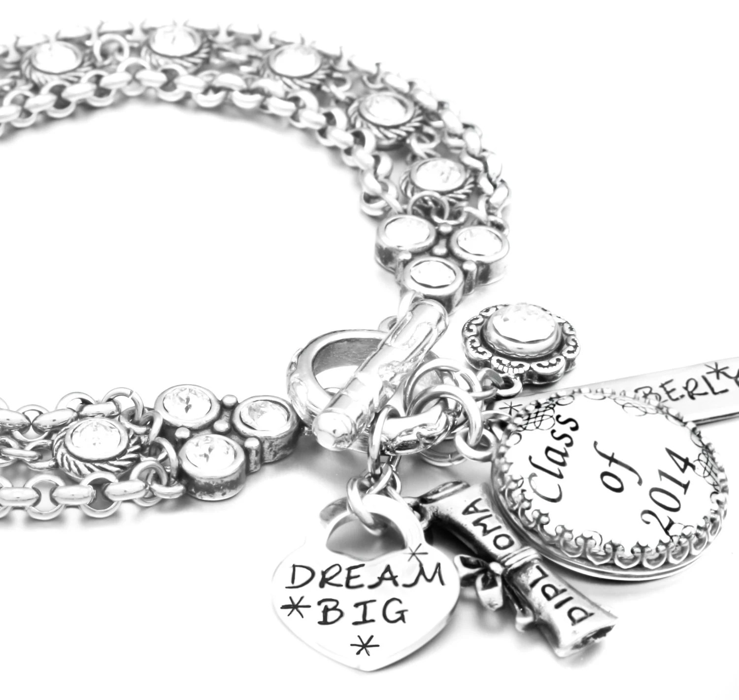 Graduation Jewelry Gift for Graduate by BlackberryDesigns