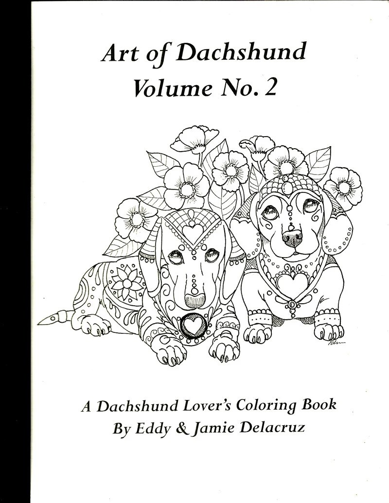 Dachshund Adult Coloring Coloring Pages Coloring Pages