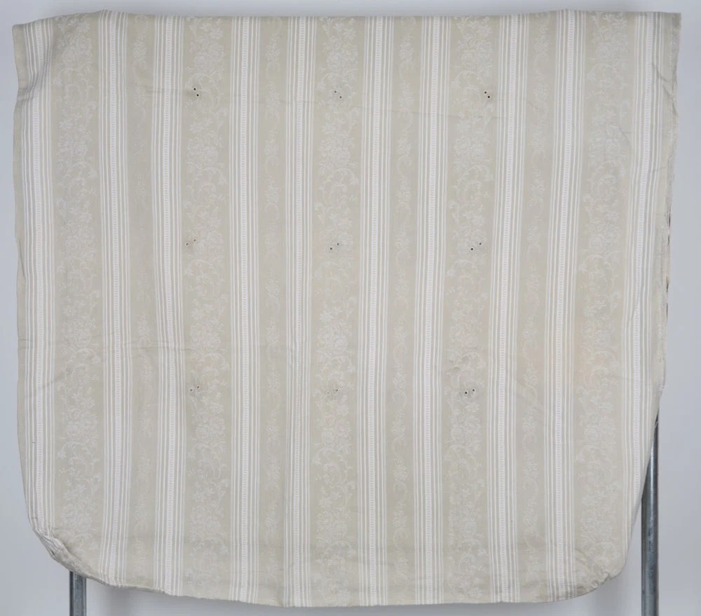 Vintage White Cotton Bedcover. Fine Cotton by RebeccasAix