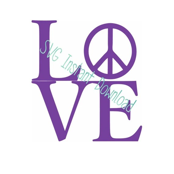 Download Love Peace SVG File Peace and Love Peace Sign Svg Peace