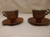 copper coffee cups  Etsy